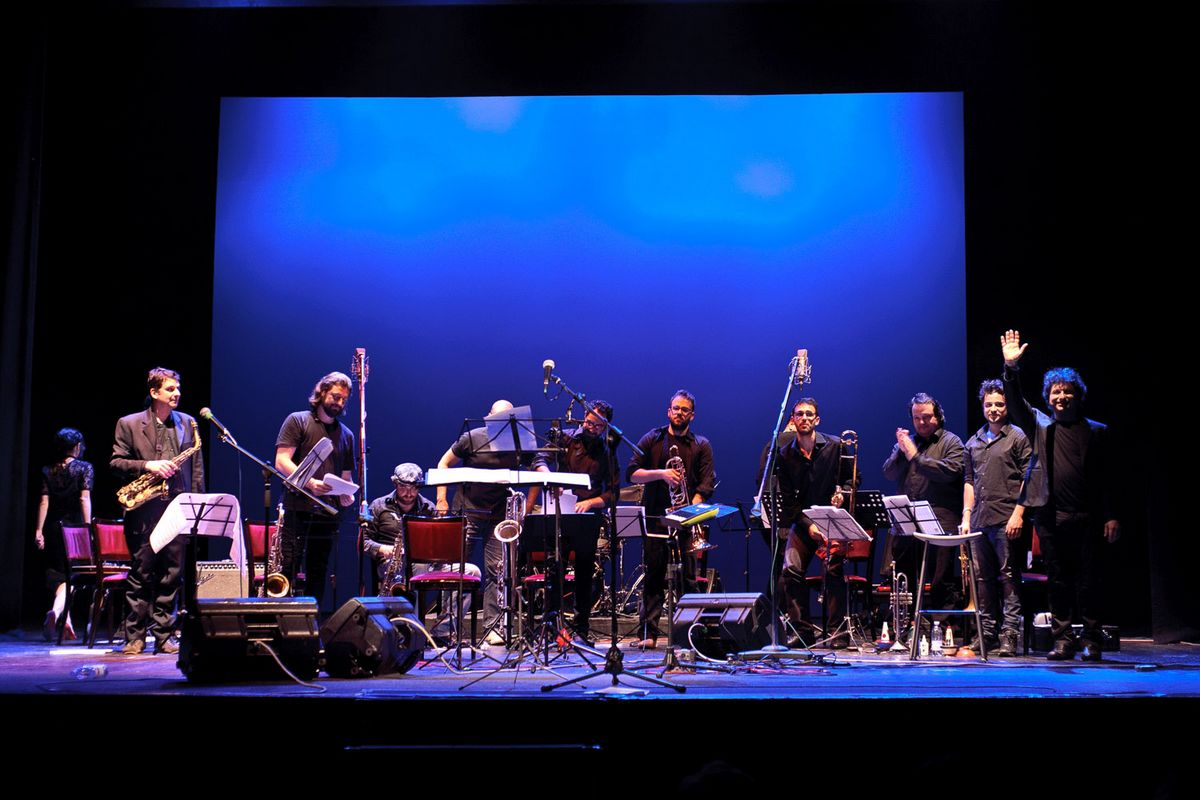 "Palladium-Roma–17 giugno 2014-Orchestra Operaia incontra Maria Pia De Vito – ""Jimi Joni & Frank and All That Jazz""- Piazza Bartolomeo Romano, 8 Start: ore 21,00 Ingresso: € 10"