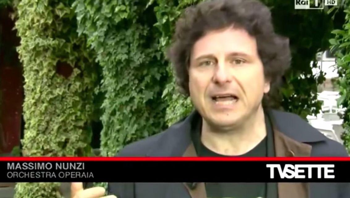 Rai Uno Tv 7 Special su L'orchestra Operaia del 2 Maggio 2014